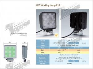 China 2012 Super New 27W LED Working Lamp 818 on sale