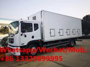 China HOT SALE!  Dongfeng D9 6.8m length 40000-50000 day old chicks truck for sale, baby live poultry transported vehicle on sale