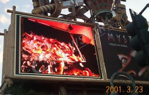 China P10 Electronic Billboard LED Display Advertising , High Definition on sale