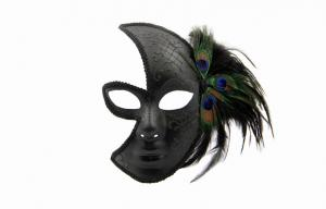 China Traditional Venetian Masks , Cool Couples Masquerade Ball Masks on sale