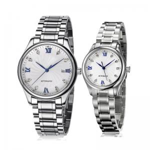 China Fashion Stainless steel Automatic/ Quartz Wristwatch,High Quality OEM Couple  Wrist Watch,Promotion watch on sale