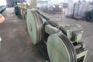 China Galvanized Iron or MS Wire Pvc Coating Machine /  PVC Coated Weaving Machine on sale
