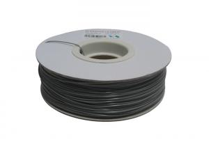 China 1.75mm ABS 3D Printer Filament , Color Changing Filament Grey Tto White on sale