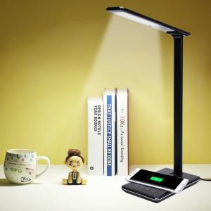 China latest LED table lamp wireless charger,multi-function led lamp wireless charger on sale
