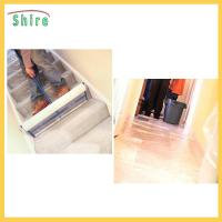 Protective Carpet Shield Self Adhesive Film Mask , Carpet Masking Film