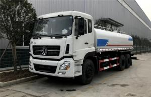 China Dongfeng Water Tanker Truck 20000 Liters 6x4 5000 Gallon Q235 Carbon Steel on sale