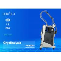 Fat Freezing Cryolipolysis Slimming Machine With 10 Inch Touch Lcd Screen