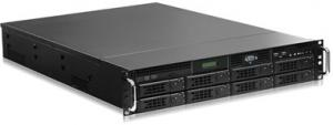 China 19 2U Rackmount Industrial Grade Server Support Intel® Xeon™ E5-2600 V3/V4 CPU EVOC EIS-2206B on sale