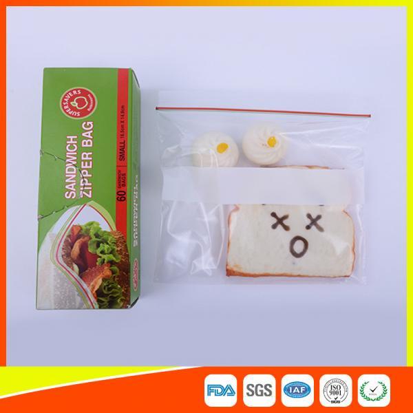 100pcs Clear Plastic Ziplock Bag Write On Panel Resealable Food Grade 16 Sizes