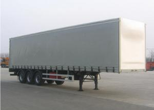 China Drop Curtain Side Dry Freight Truck Bodies ,13m Insulated Dry Cargo Box on sale