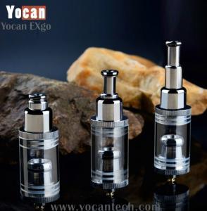 China new version healthy smoking dry herb vaporizer ecig Yocan EXgo portable huge vapor crystal clear vaporizers on sale