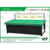China Promotional Stand Fruit Vegetable Display Rack and Shelf for grocery store , retail on sale