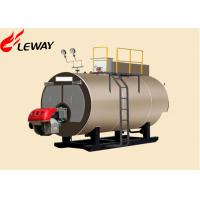 Original Italy Burner Oil Fired Hot Water Boiler , Oil Fired Heating Boilers Large Heating Surface