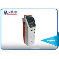 China 32 inch automatic self ordering kiosk with card reader cash payment on sale