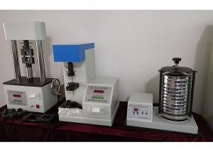 China Clay Absorption Blue Measuring Foundry Sand Testing Equipment Ultrasonic Divergence on sale
