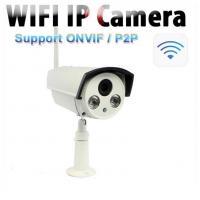 1.0 Megapixel ONVIF Outdoor Wireless IP Camera For Home , 360 Degree Analog