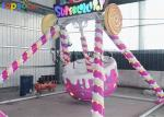 Kids Attraction 5 Seat Super Lollipop Pendulum Amusement Rides Outdoor Playground