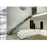 China Freestanding Floating Straight Metal Stair Kits Interior Personalised Shape on sale