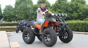 China Air Cooled Four Wheeler Atv 44.9 Wheelbase , 150cc 4 Wheeler Quads For Adults on sale