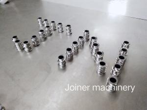 China Lab Screw Extruder Pellet Machine Parts WR5 / W6Mo5Cr4V2 Premium Materials on sale