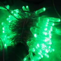 China Christmas light LED light chian Green Yellow Red for tree in park decoration on sale
