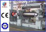 Customized Rubber Milling Machine , Rubber Processing Machines 18 Roller Working Diameter