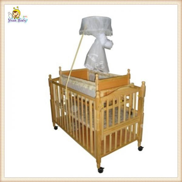 nature wooden baby boy crib bedding sets small automatic swing cot images - Baby Bedding For Boys
