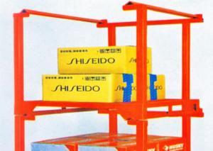 China Foldable Shippable Detachable Storage Steel Stacking Racks With Powder Coat Paint Finish on sale