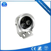High Lumen Flat Silver Shell 10W IP68 RGB LED Pool Lights With Warm white/Pure white/RGB/ Single color