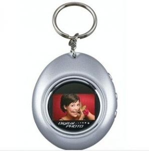 China 1.1 Inch Mini Oval Key Chain Promotion Gift Digital Photo Frame on sale