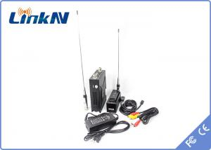 China Digital Video / Data Transmission COFDM Transmitter Non Line Of Sight With Vehicle Mounted Receiver on sale