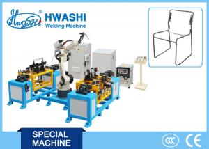 China Six Axis Chair TIG MIG Industrial Welding Robots 1400mm Moving Radius 50Hz Frequency on sale