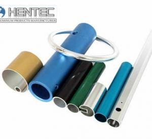 China Blue or black anodized aluminum tubing  with bending , weld , CNC on sale