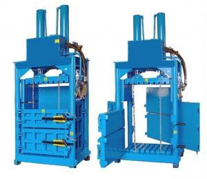 China Hydraulic Press PET Film Parking Clothes Baling Machine Textile Baler on sale