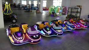 China Hansel amusement park outdoor fiberglass battery powered motorbike on sale