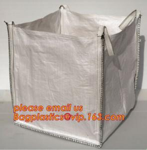 China Top open virgin polypropylene woven big jumbo bag for sand cement sludge building material,Product Categories FIBC bags on sale