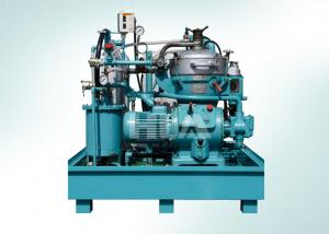 China 8000 L/hour Centrifugal Oil Purifier Separator / Diesel Oil Centrifugal Plant on sale