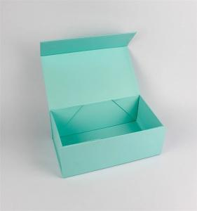 China Shoes Packaging Foldable Paper Box / Collapsible Magnetic Folding Box on sale