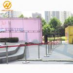 Airport/Bank/Events Crowd Control Stainless Steel Retractable Belt Queue Barrier