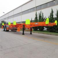 China Mechanical Suspension Carbon Steel 40Ft Bomb Cart Trailer on sale