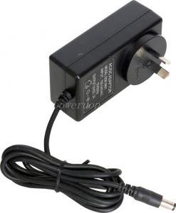 China 5v 9v 12v 18v 1mA Wall-mount Adapter With US AU UK Plugs Electrical Adaptors on sale