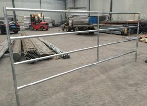 China Environment Protection Cattle Corral Panels Galvanized Cattle Panels Various Sizes on sale