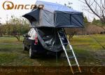 Grey Overland Hard Top Roof Top Tent 5 Sizes For Camping , Roof Box Tent