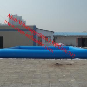 China large inflatable swimming pool rectangular inflatable pool inflatable lap pool on sale
