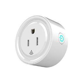 China Remote App Control Wireless Plug Switch Smart Home Power Outlet White Color on sale
