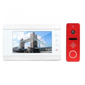 China New Design Security Camera System cmos camera peephole video door phone with Vandal-proof Call Panel on sale