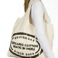 China Customized Reusable Womens Cotton Screen Printing Shopping Bags with Handles on sale