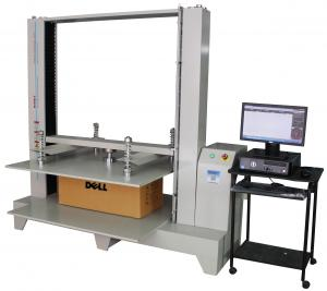 China Compression Package Testing Equipment 10KN / 20KN / 50KN Servo Control on sale