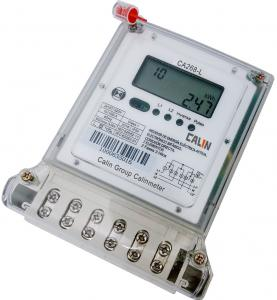 China Multi - Tariff 2 Phase Electric Meter , Bi - Directional Customized Kwh Power Meter on sale