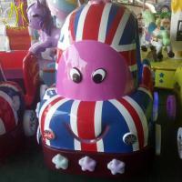 Hansel wholesale luna park equipment coin game machine kiddie ride on bus